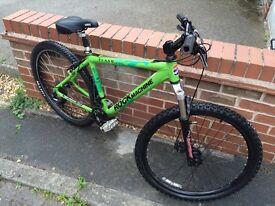 Rock machine bike