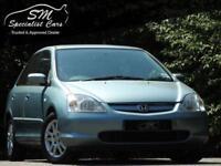 2003 03 HONDA CIVIC 1.6 SE EXECUTIVE 5D 109 BHP