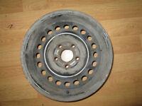 BMW 3 Series steel wheels