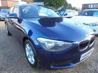 2012 62 BMW 1 SERIES 2.0 116D ES 5D 114 BHP DIESEL