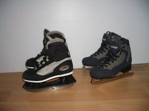 """new """""""" SOFTEC """""""" LINWOOD """""""" patins glace kids skates size 11 Y"""