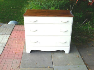 almost an antique-nice 3 drawer chest