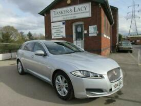 image for Jaguar XF 2.2d Sportbrake Luxury Auto Only 23,000 Miles