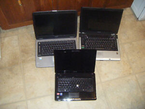 toshiba laptops for parts