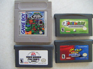 4 Game boy games for sale