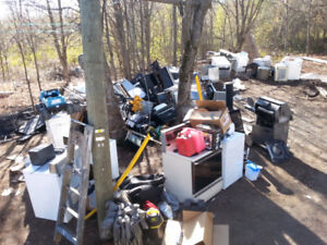 Looking for unwanted SCRAP METAL AND MORE I will pickup for free