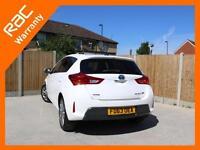 2014 Toyota Auris 1.8 Hybrid Excel Auto Sat Nav Rear Cam Bluetooth DAB Heated Se
