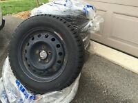 185/65 R15 winter tires and rims