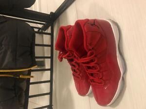 Red Jordan 11 Win Like 82's!