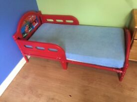 Kids bed with mattress boys mcquin