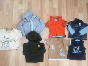 Boy Clothing Lot - Size 0-6 Months