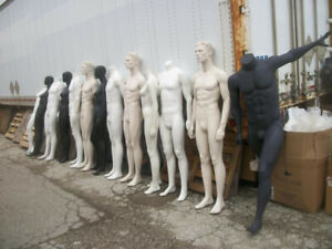 L@@K--MOVING OUT SALE-MANNEQUINS-RACKS+LOTS OF FREE STUFF!!!