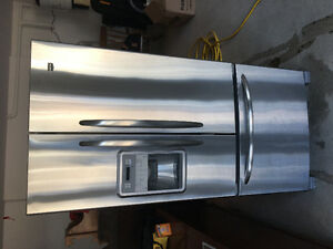 Almost new Maytag French door bottom mount fridge