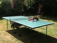 Table tennis table: Butterfly folding indoor/outdoor