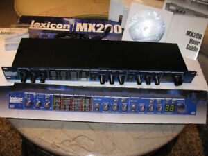 Lexicon MX200 Dual Reverb/Effects Processor/Like new