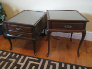 Gibbard End Tables, Bombay Floor Mirror, Hall Table