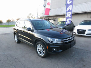 2013 VW Tiguan Highline - Navi|Cam|B/tooth - 40800 Ks - A1