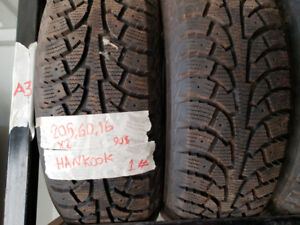 2 Excellent winter Tires 205/60 R16 ***JUST $45 ***