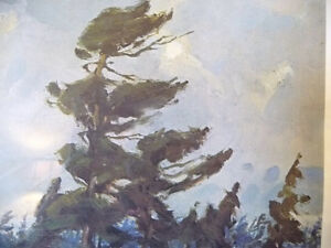 "Iconic Painting by Frank Panabaker ""Winter Storm"" 1957 Signed/Nu Stratford Kitchener Area image 9"