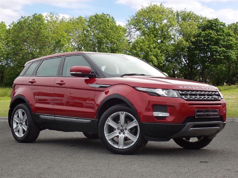 Land Rover RANGE ROVER EVOQUE 2.2 SD4 Pure Tech 4x4 5dr (red) 2013