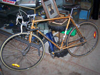 Quinn Antiques Vintage Bike Project of the Day - 67' Peugeot