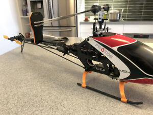 MSH Protos 500 Radio Controlled Helicopter (with spare parts)