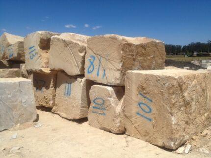 SANDSTONE BLOCKS OR BOULDERS Campbelltown Campbelltown Area Preview