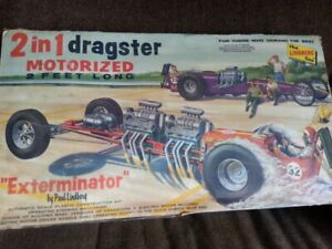 1960sVintage extreminaor Dragsters Kit,2ft scale,Paul Linberg