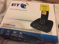 Telephone bt single handset portable mobile