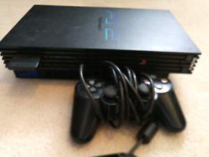 PlayStation 2 with assorted games