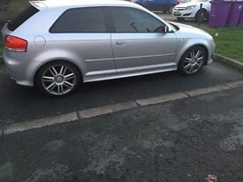 2007 07reg Audi S3 Silver Quattro 3 Door Cheapest Ever Full service