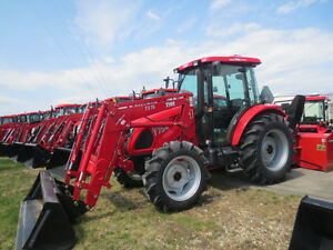2016 TYM 754 Tractor,loader,blower