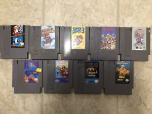 NES Games and Controllers