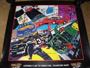4 NASCAR Team Chevrolet Sam Bass Prints London Ontario image 2