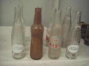 Vintage Pop Bottles (8)