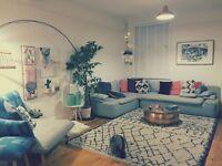 As New Habitat corner sofa - rrp £2300
