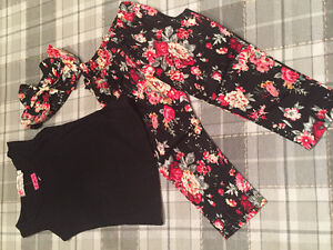 Adorable size 2/3 toddler 3 piece outfit