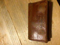 Found - brown leather wallet