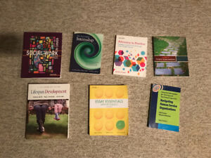 Used textbooks for sale.