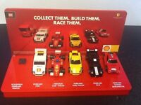 Lego / Esso Ferrari promotional displays
