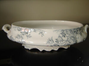 Tureen base and platter made by W & E Corn, England