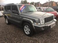 2007 JEEP COMMANDER 3.0 CRD Limited Auto 7 SEATER DIESEL SERV HIST