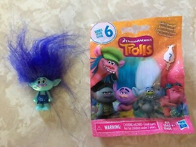 Trolls Series 6 Glitter Blind Bag BRANCH BLUE BOY Figure Doll New Sealed!!