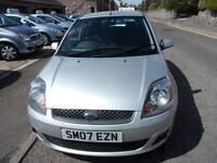 FORD FIESTA 1.4tdci climate 2007 Diesel Manual in Silver