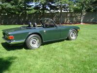 1969 Triumph TR6 (recent restoration)