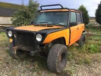 Land Rover Range Rover OFF ROADER , SHORTENED, ISUZI ENGINE .