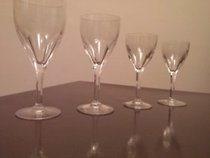LAST DAY TODAY.. Set of Val St. Lambert Crystal