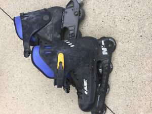 2 Pair of Roller Blades (1 Pair Adult - 1 Pair Kids)