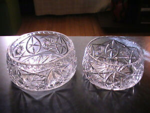 New Lead Crystal Bowls (from $18.95)