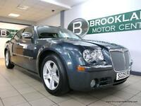 Chrysler 300c 3.0 V6 CRD C AUTO [SAT NAV, LEATHER, HEATED SEATS, SUNROOF and LOW
